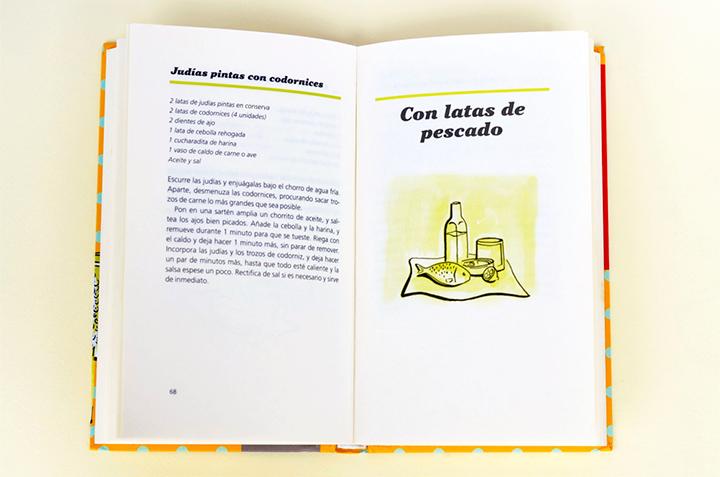 """Ilustración de un capítulo del libro """"Dame la lata"""""""