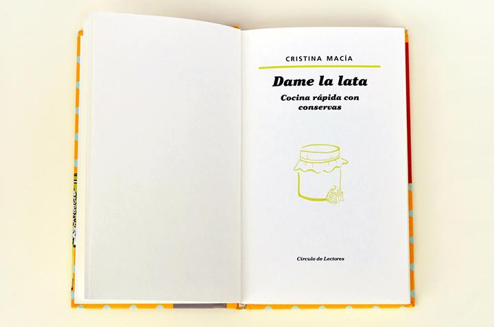 """Contraportada del libro """"Dame la lata"""""""